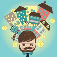 Popular : A businessman thinking for investment concept