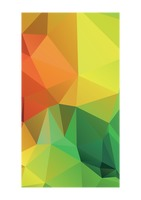 Abstract faceted wallpaper