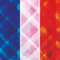 Abstract french flag background