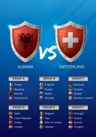 Albania vs switzerland