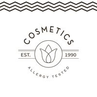 Allergy tested cosmetics label