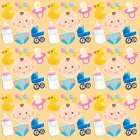 Baby theme background