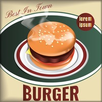 Best in town burger design