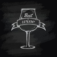Best wine glass icon