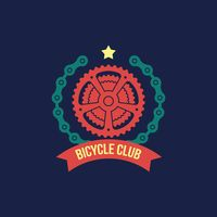 Bicycle club label