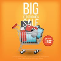 Big electronics sale design