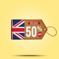 Big sale offer tag
