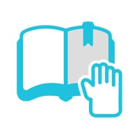 Book with hand