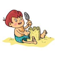 Image result for sandcastle images clip art