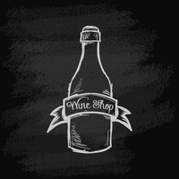 Chalk bottle icon