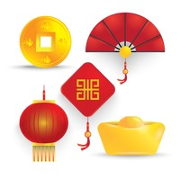 Chinese icon set