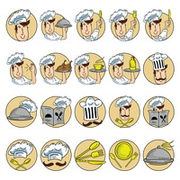 Collection of chef icons