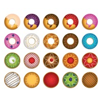 Collection of doughnut