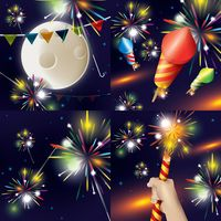Collection of firework displays