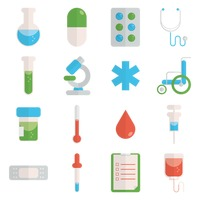 collection of medical icons - Medical Collection Jobs