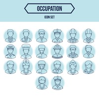Collection of people and occupation
