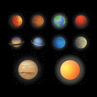 Collection of planets