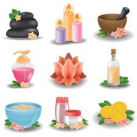 Collection of spa theme