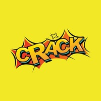 Comic effect crack