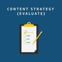 Content strategy - evaluate