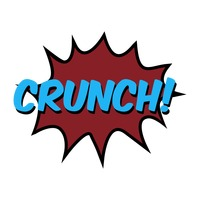 Crunch comic speech bubble