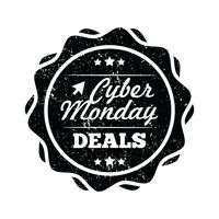 Cyber monday deals label
