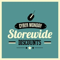 Cyber monday mega sale wallpaper