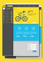 Cycling website design