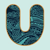 Decorative alphabet u