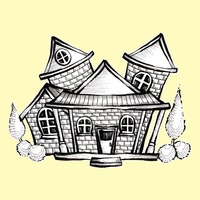 Doodle house