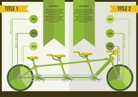 Ecology concept infographic