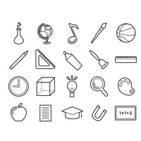 Educational icons