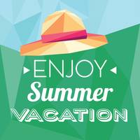 Enjoy summer vacation card