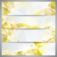 Faceted banner set
