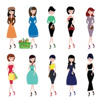 Fashionable women collection