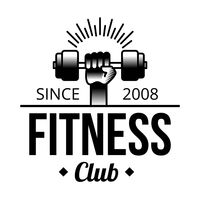 Fitness club label