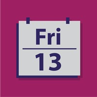 Friday 13 on counter calender