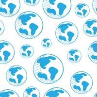 Globe design background
