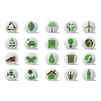 Go green related icons