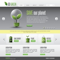 Go green web page