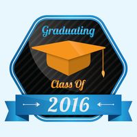 Graduating class of 2016 badge
