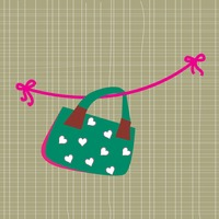Handbag with hearts