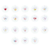 Heart pendant collection