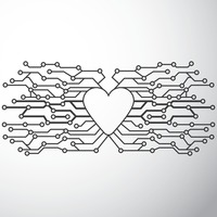 Heart shape circuit design