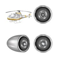 Helicopter and ducted fan