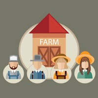 Infographic of farm occupations