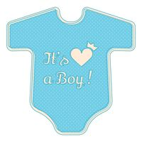 Its a boy sticker