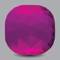 Low poly gem