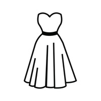 Beautiful Costume History Silhouette Outlines  1940s Free Drawings  19401950