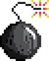 pixel fire vector image 2021444 stockunlimited. Black Bedroom Furniture Sets. Home Design Ideas